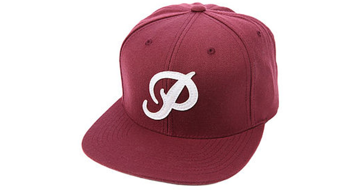 e5ee7d3094f Lyst - Primitive The Classic P Snapback Hat in Purple for Men