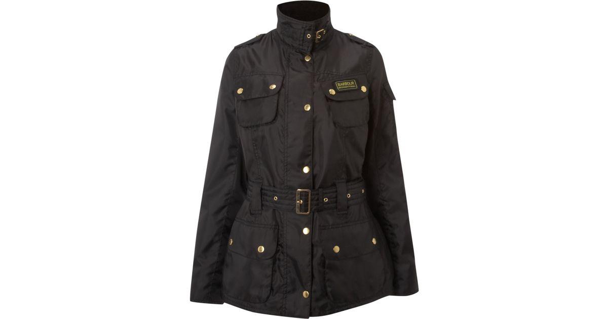 c7f57e13930d8 Barbour Rainbow International Bright Brass Jacket in Black - Lyst