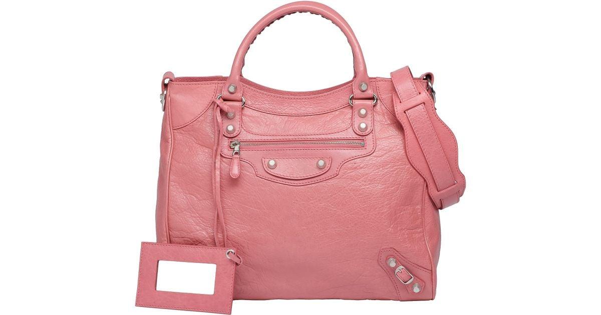 99d3d1f8f3e Balenciaga Balenciaga Giant 12 Silver Velo Black in Pink - Lyst