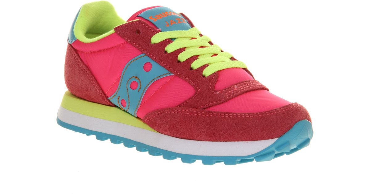 quality design 6142d 7bde4 Saucony Womens Jazz Original in Pink - Lyst