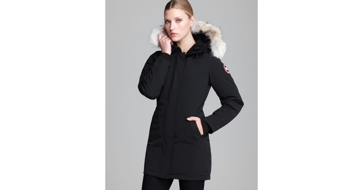 Canada Goose expedition parka sale store - Canada goose Victoria Coat in Black | Lyst
