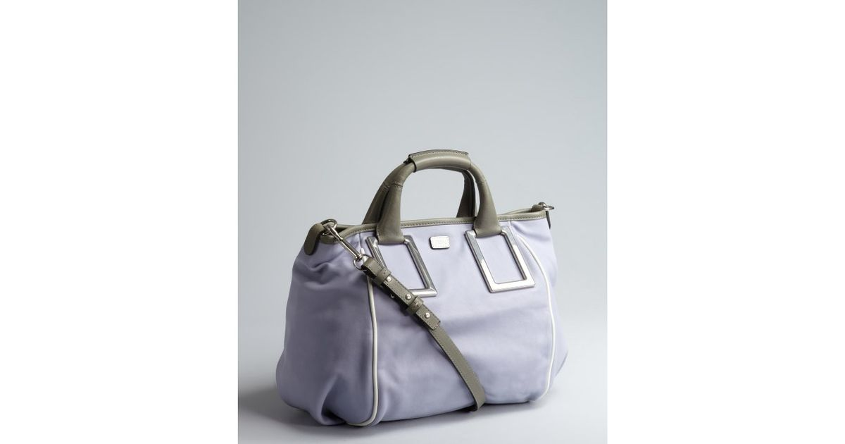 Chlo¨¦ Wisteria Violet Leather Ethel Convertible Tote in Purple ...