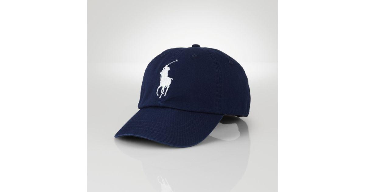 caaba85aca55a9 Polo Ralph Lauren Wimbledon Big Pony Sports Cap in Blue for Men - Lyst