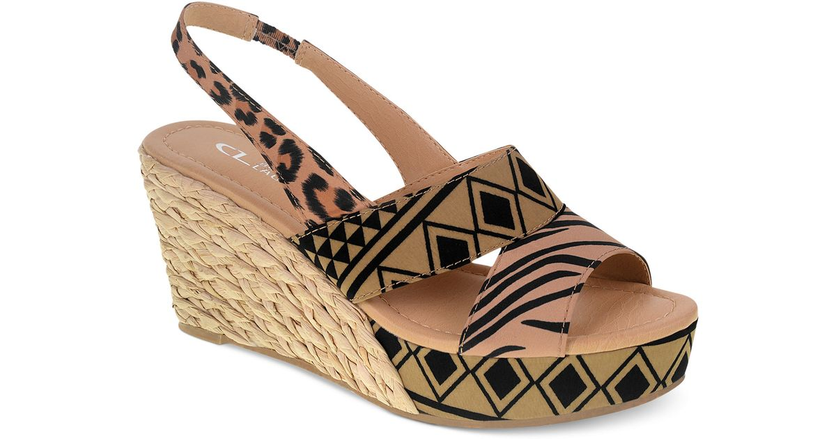 406c49e90 Lyst - Chinese Laundry Cl By Laundry Shoes Dream Again Platform Wedge  Sandals in Brown