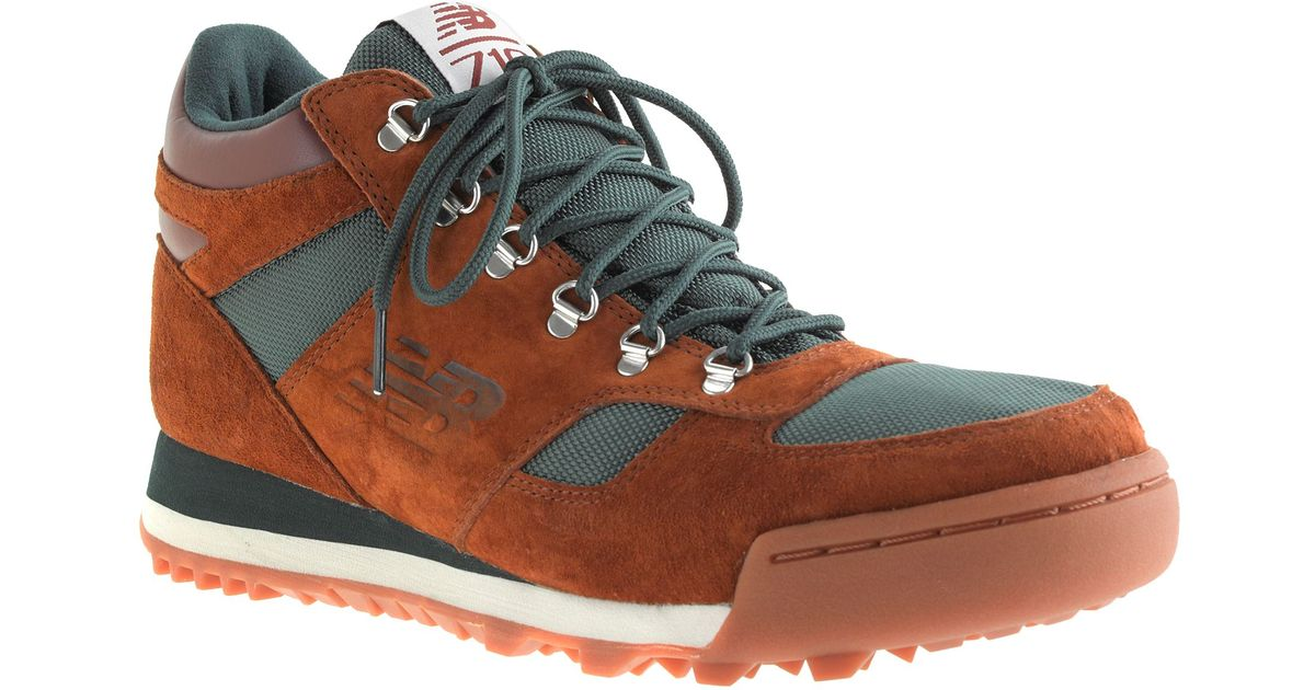 cdc6e72460b6b J.Crew New Balance For Jcrew H710 Rainier Hiker Boots in Brown for Men -  Lyst