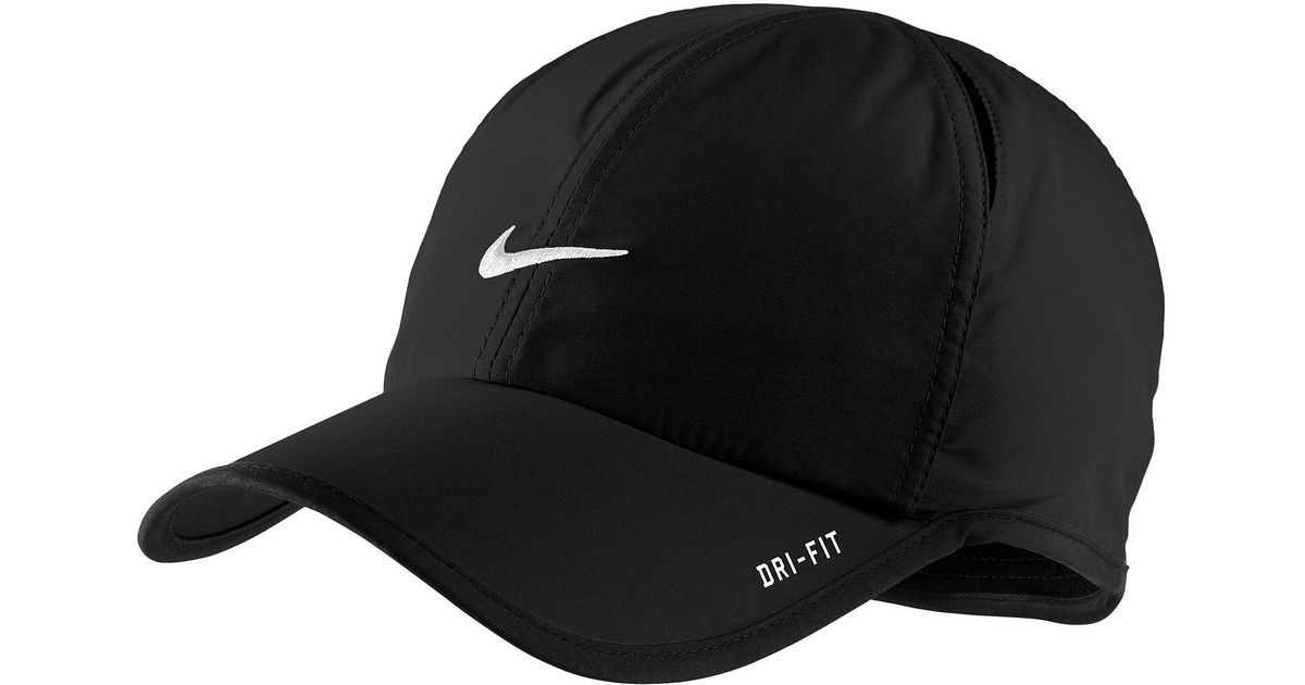 98026496a6e Lyst - Nike Dri Fit Feather Light Cap in Black for Men