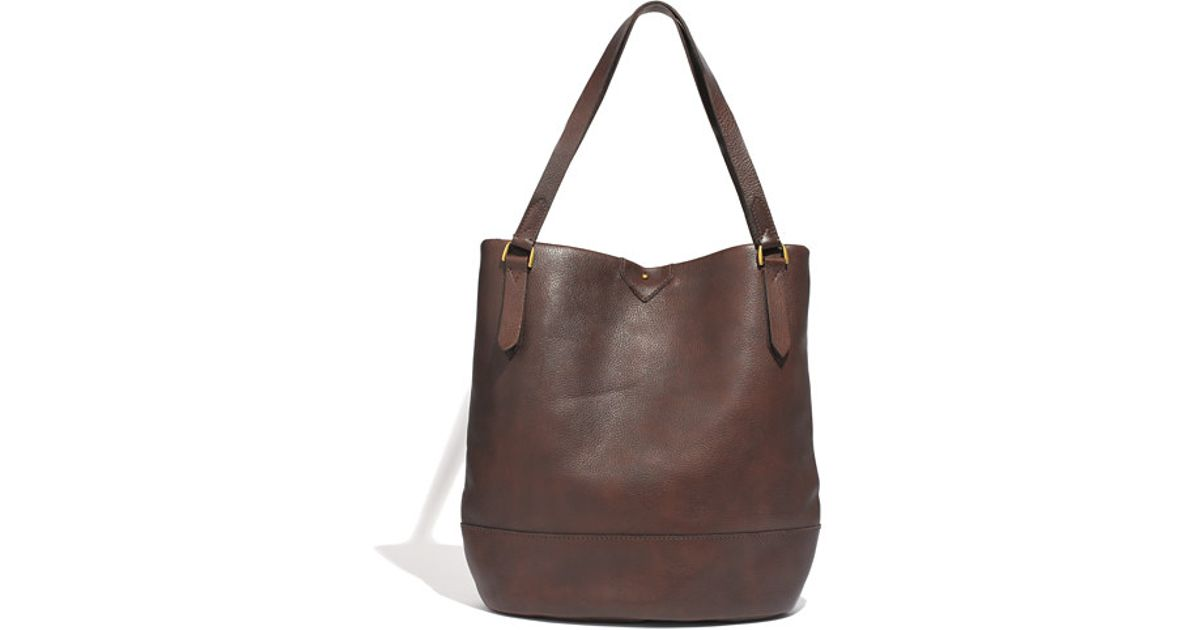 294201d0eff0 Lyst - Madewell The Essex Tote in Brown