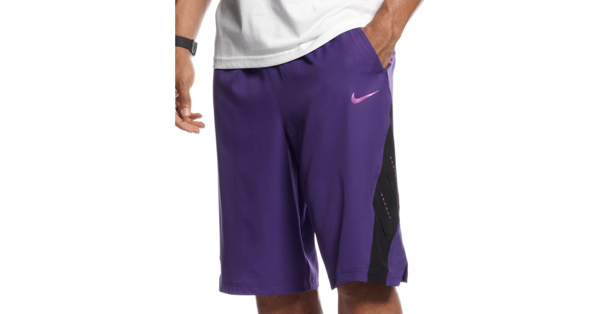 0c3a5e63a ... czech lyst nike kobe game time 8 shorts in purple for men c9bfe cd3c3