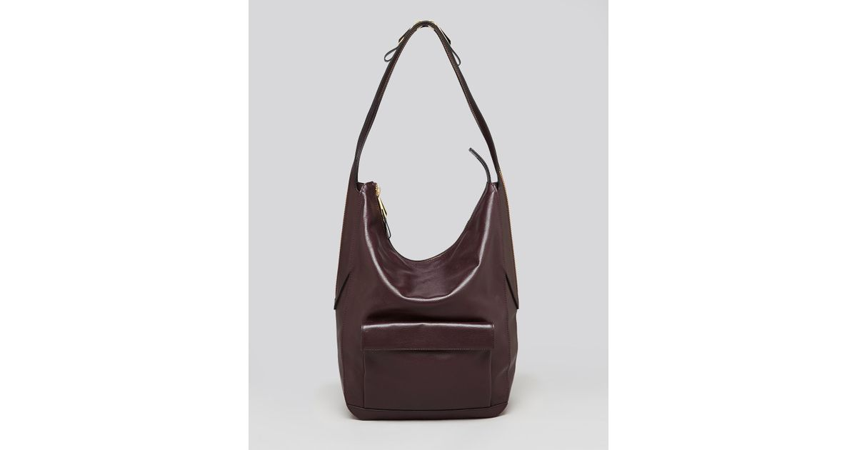 dfe9f1a0a3 Lyst - Pour La Victoire Hobo Adelle Pocket in Brown