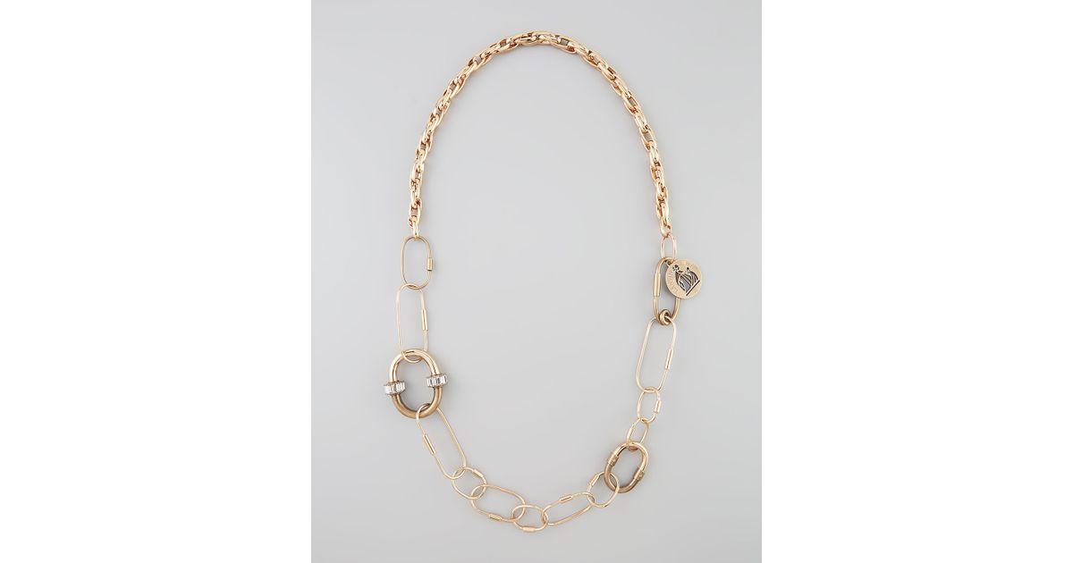 Lanvin Jewelled Tassel Belt And Necklace ja3Eg