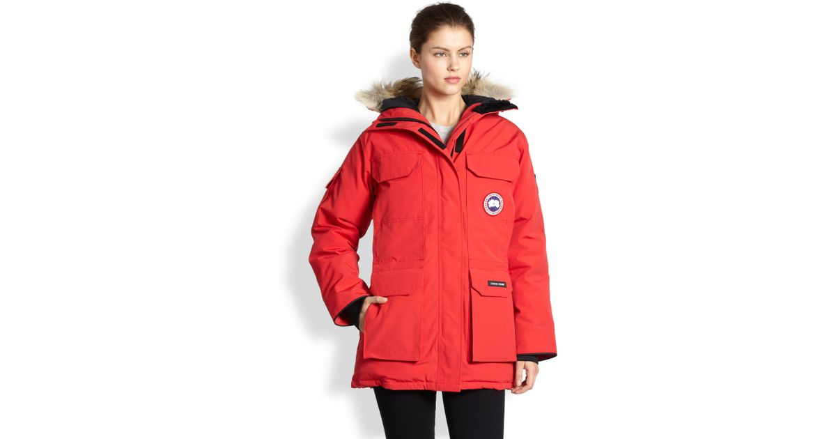 canada goose expedition jacket red