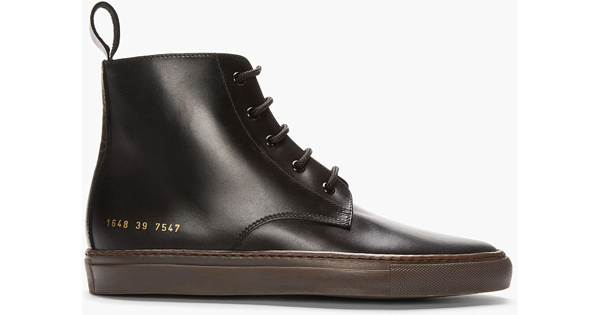Common Projects Leather Boots sale under $60 2015 sale online free shipping best prices with credit card cheap online JpX8l3U