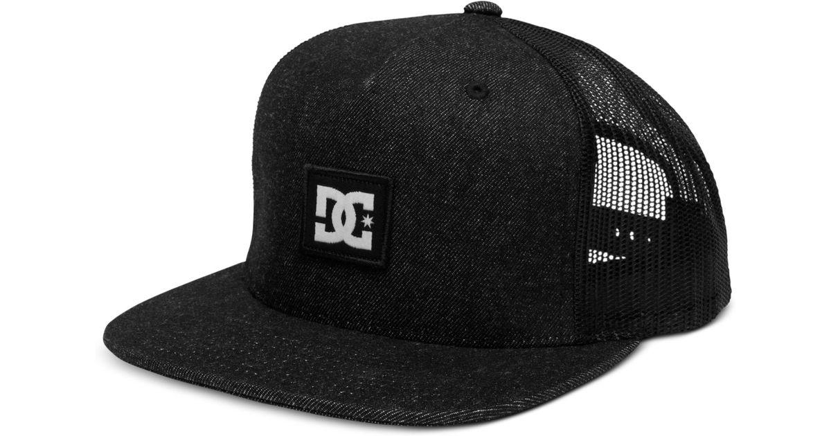 38de1731 DC Shoes Pleaser Snackpack Mesh Trucker Hat in Blue for Men - Lyst