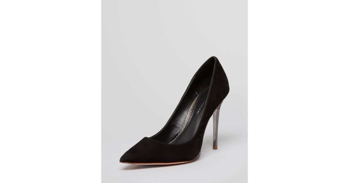4a2476a8d10 Lyst - Elie Tahari Pointed Toe Pumps Spencer High Heel in Black