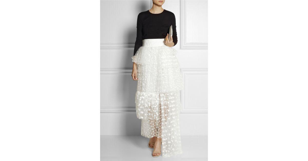 Chloe white maxi dress