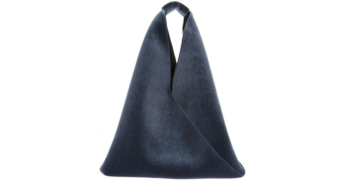 Womens Fringed Canvas Triangle Bag Maison Martin Margiela lQRJ99