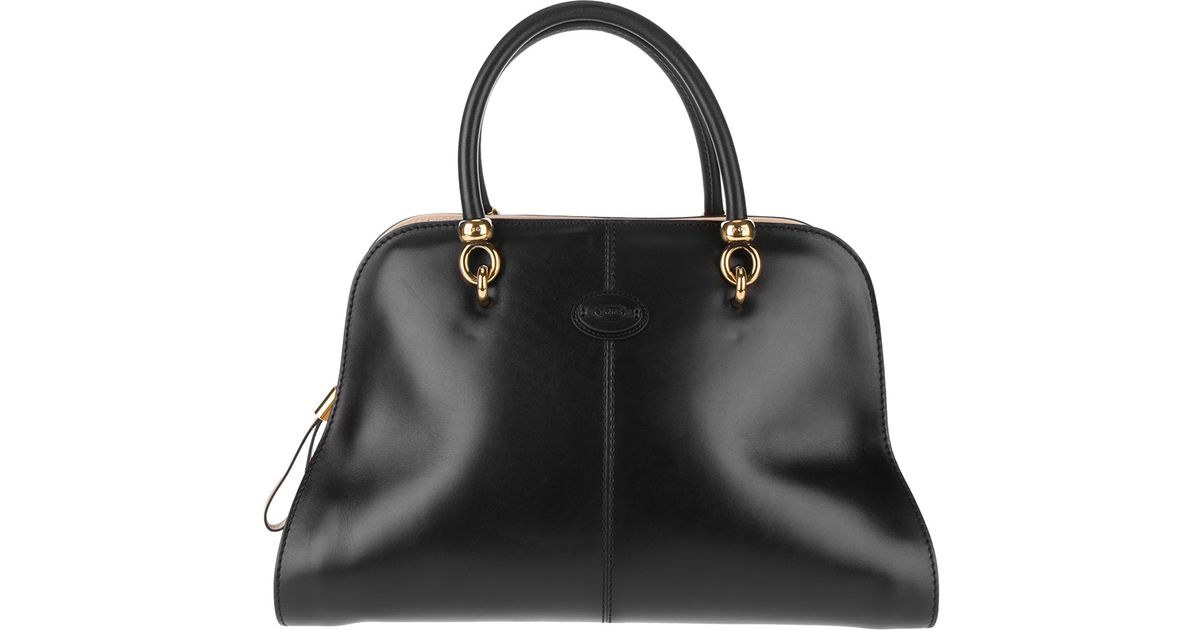 8685d05706 Tod's Tods Sella Small Bowling Bag in Black - Lyst