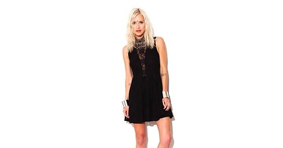 9588ce3dc9fdc For Love & Lemons For Love Lemons Lulu Lace Mini Dress As Seen On Kristin  Cavallari in Black - Lyst