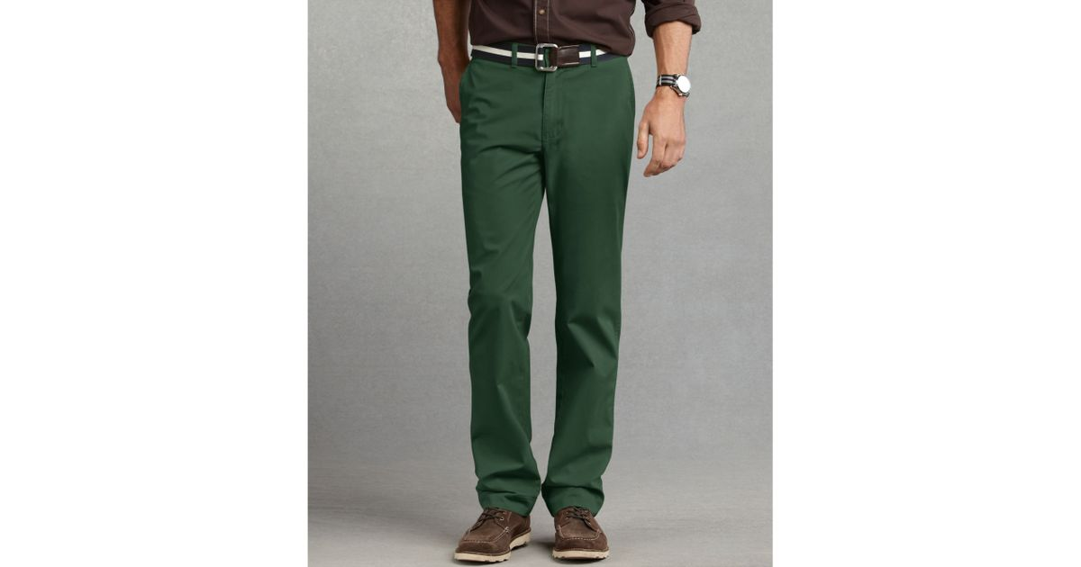 Tommy Hilfiger Green Graduate Slim Fit Chino Pants for men