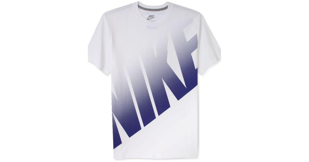321221548 Nike Big Dot Logo Tshirt in White for Men - Lyst