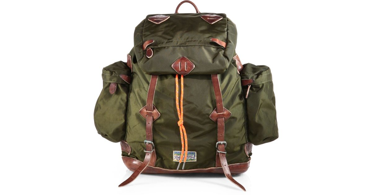 Lyst - Polo Ralph Lauren Yosemite Backpack in Green for Men 7058c7ba0a357