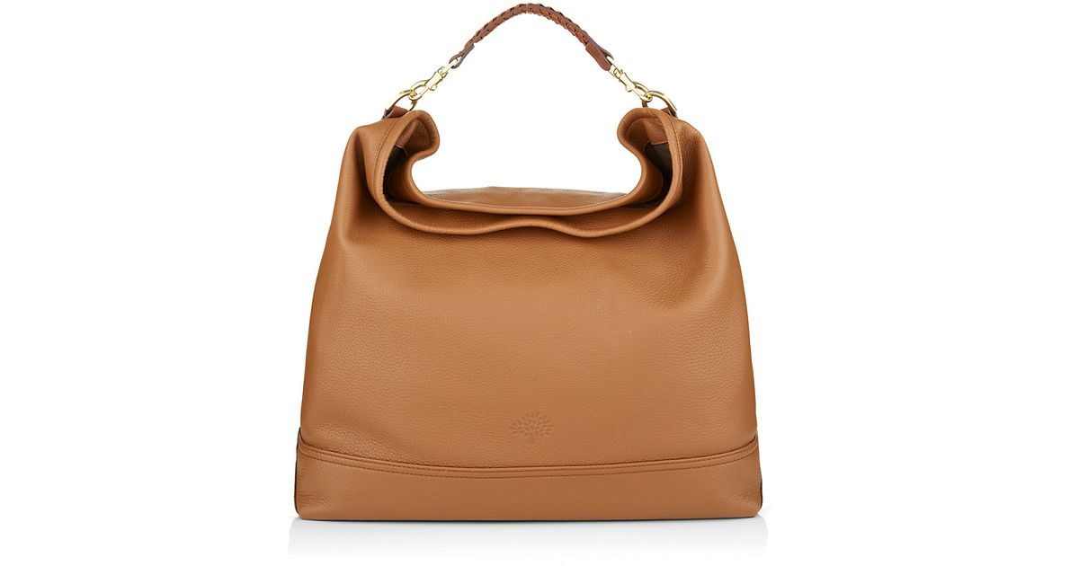cd6a2746353f ... greece mulberry effie hobo bag in brown lyst ac7c7 37039