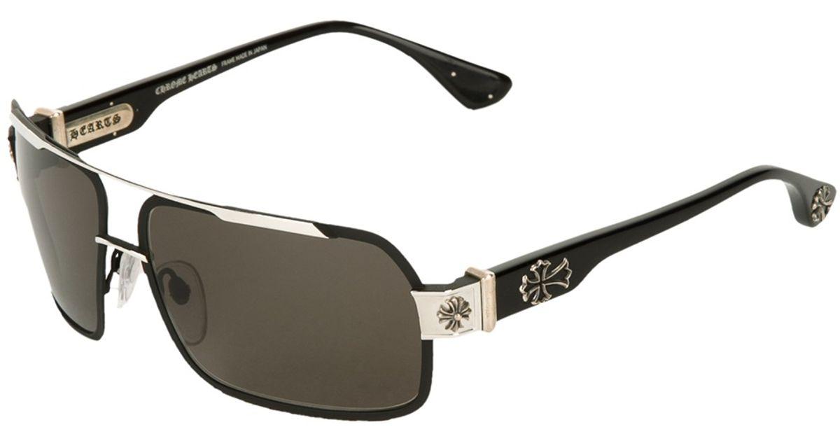 b2d2d53afdef Lyst - Chrome Hearts Hummer Sunglasses in Black for Men