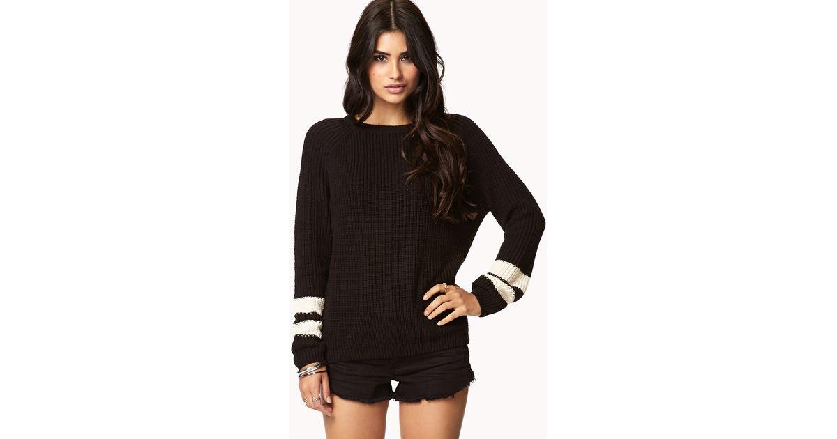 Varsity Stripe Sweater Forever 21 119