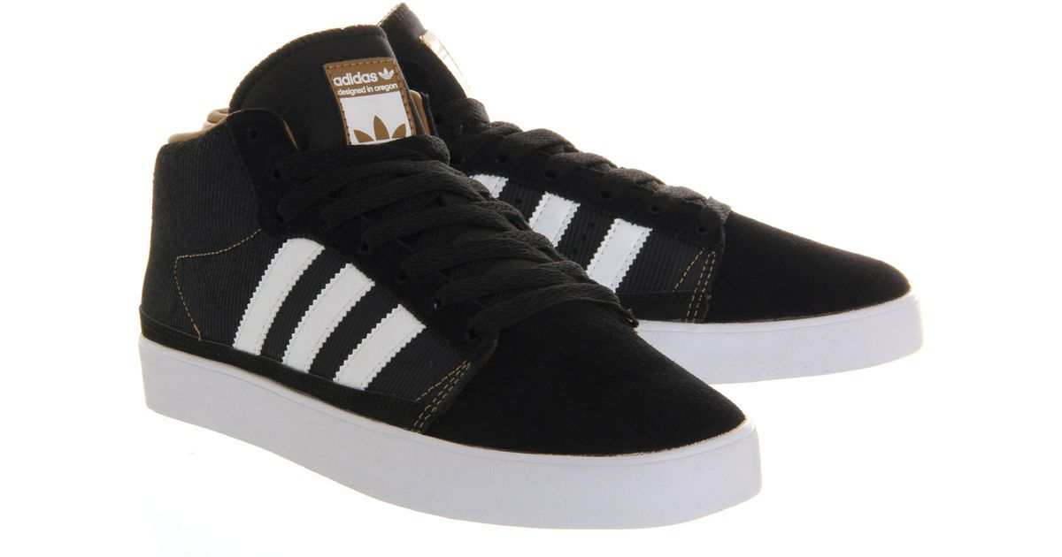 online retailer 54947 58e8c Lyst - adidas Rayado Mid in Black for Men