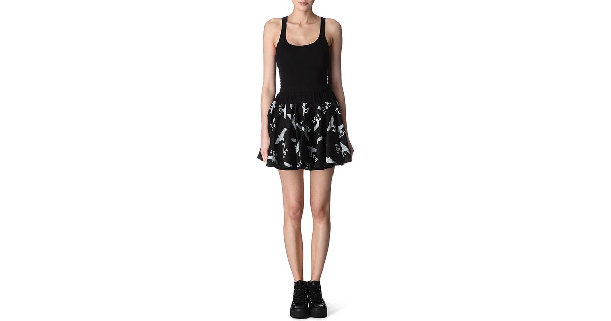 b12567173d38f Boy London Logo-print Mini Skirt in Black - Lyst