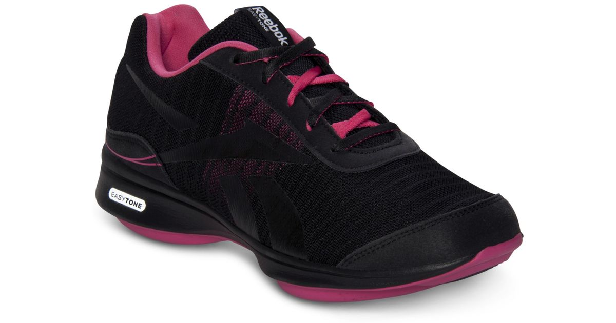 53a786144 Lyst - Reebok Easytone Lead Training Sneakers in Black