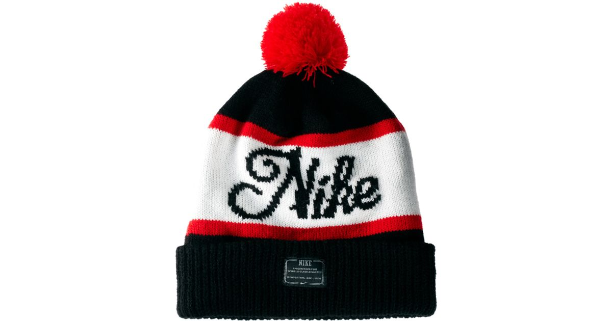 36d17f639a1 Lyst - Nike Old Snow Beanie Hat in White for Men