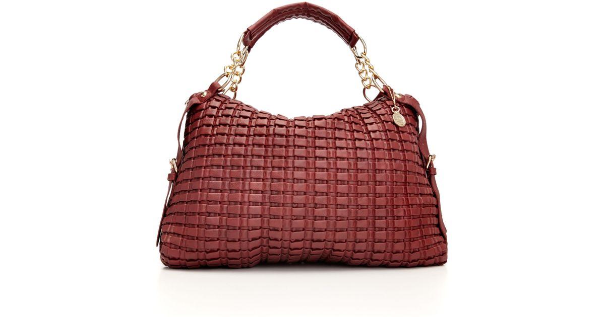 Lyst Big Buddha Big Buddha Handbag Phoebe Convertible Satchel In Red