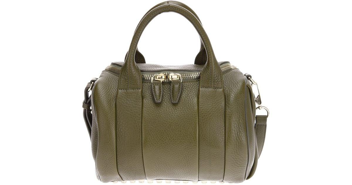 63de8de8c37a Lyst - Alexander Wang Rockie Bag in Green