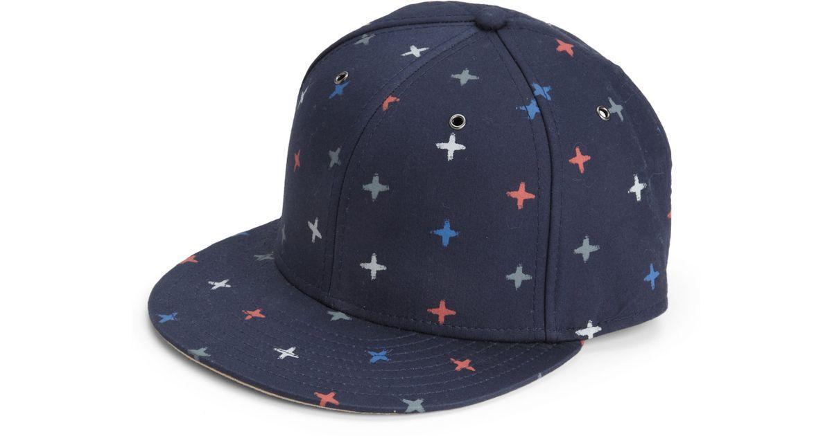 b9dba74b00d Lyst - Marc By Marc Jacobs Morris Star Cap in Blue for Men