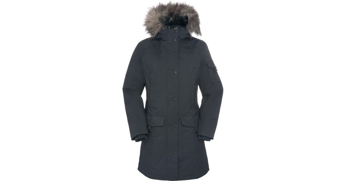 9f6e2424ebb The North Face Insulated Juneau Jacket in Gray - Lyst