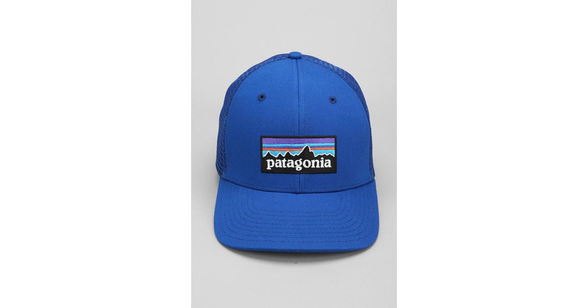 f91a22ce93c Lyst - Patagonia Trucker Hat in Blue for Men
