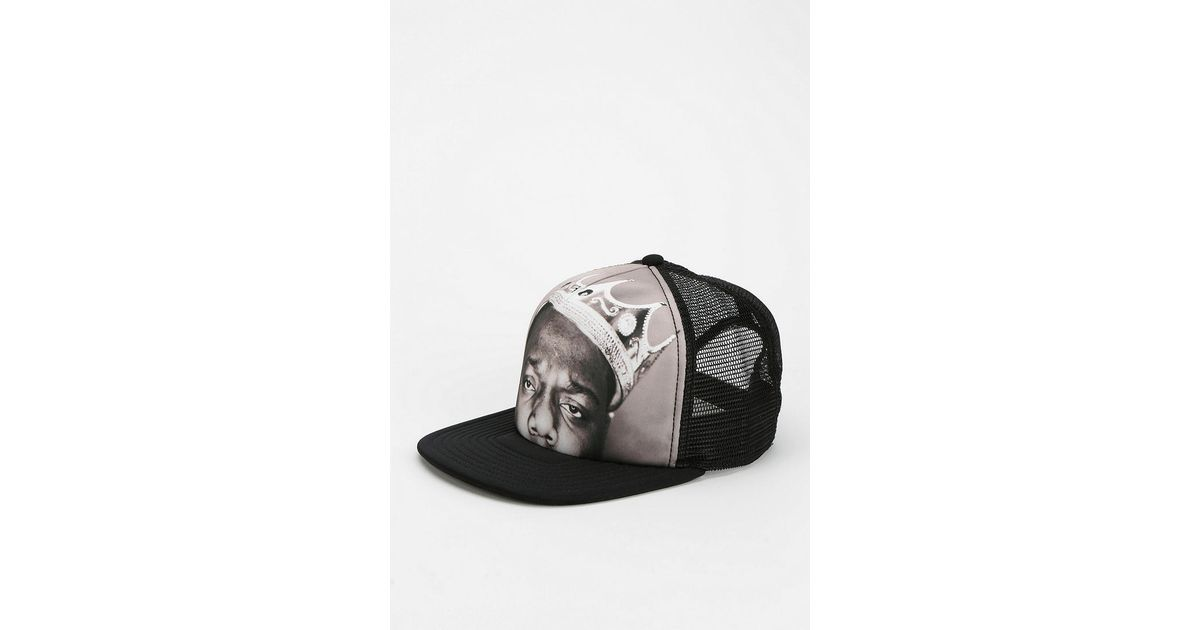 dca6d1eb214 Lyst - Urban Outfitters Biggie Snapback Hat in Gray