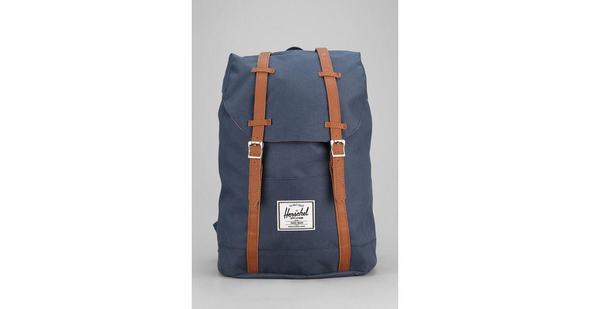 Lyst - Herschel Supply Co. Retreat Backpack in Blue 0831df269e