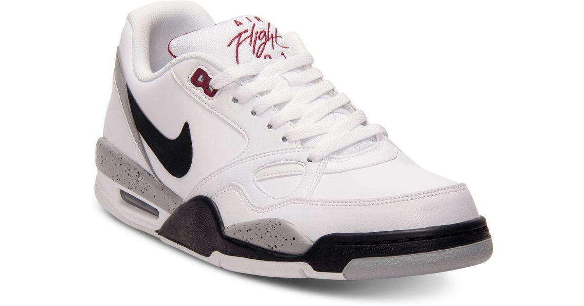 23aa3ecddaa9 Lyst - Nike Flight 13 Low Basketball Sneakers in White for Men
