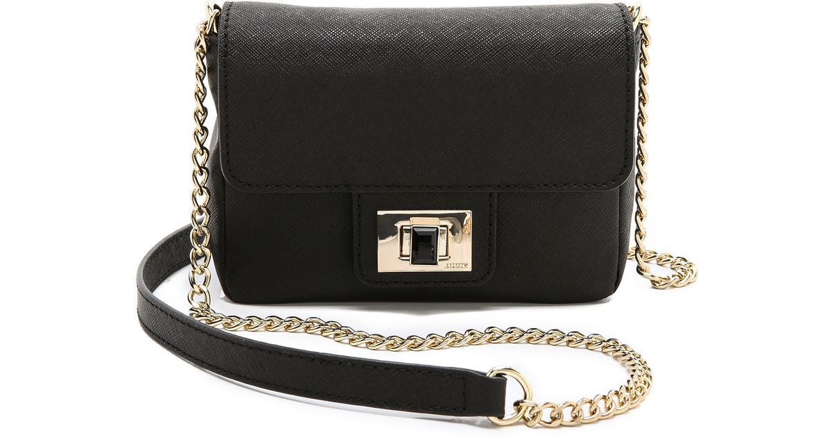 Lyst - Juicy Couture Sophia Mini Bag in Black 43401a45d4e7