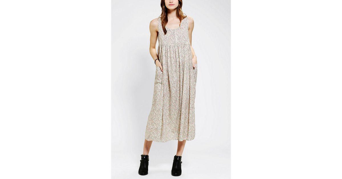 Babydoll maxi dress