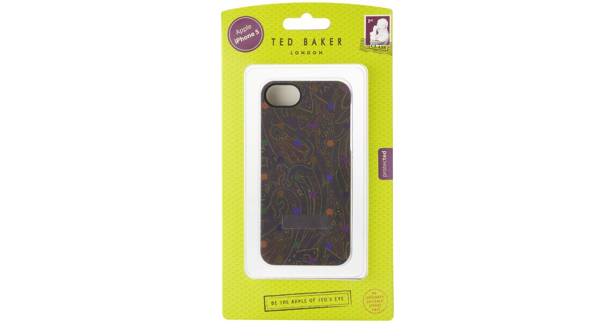 3522c76c333e Ted Baker Iphone Case in Purple - Lyst