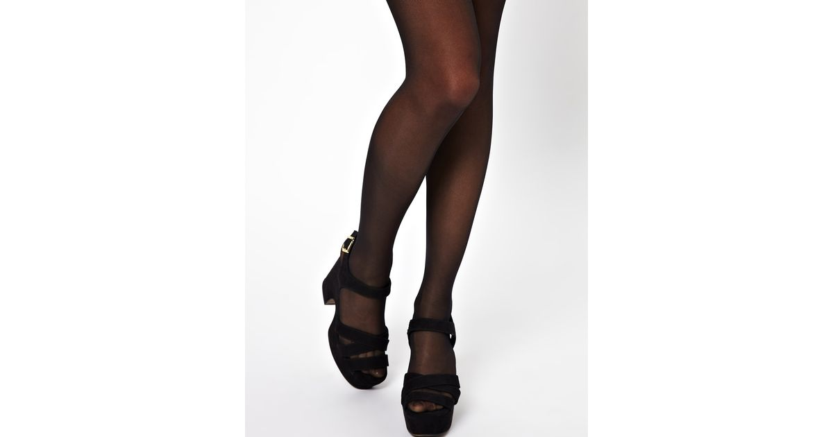 b23aa25b4ce Wolford 3 Pack Satin Touch 20 Denier Tights in Black - Lyst