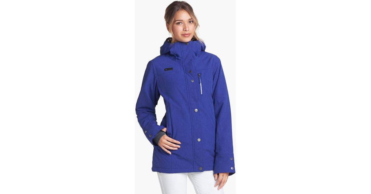 Roxy Andie Jacket in Blue  f13ef22592cc