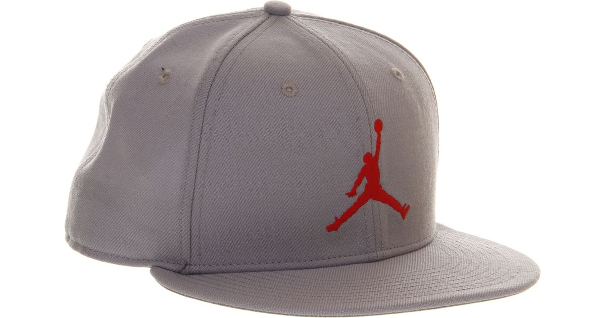 cadd3612b40 Nike Fitted Cap in Gray for Men - Lyst