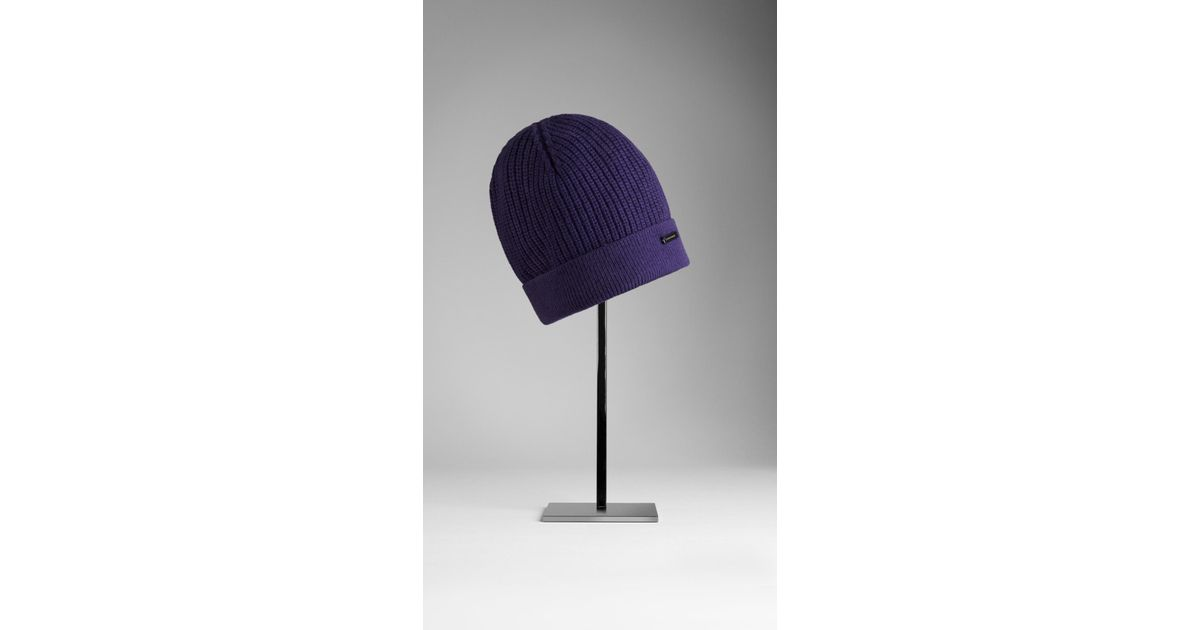 Lacoste Grappe Wool Beanie