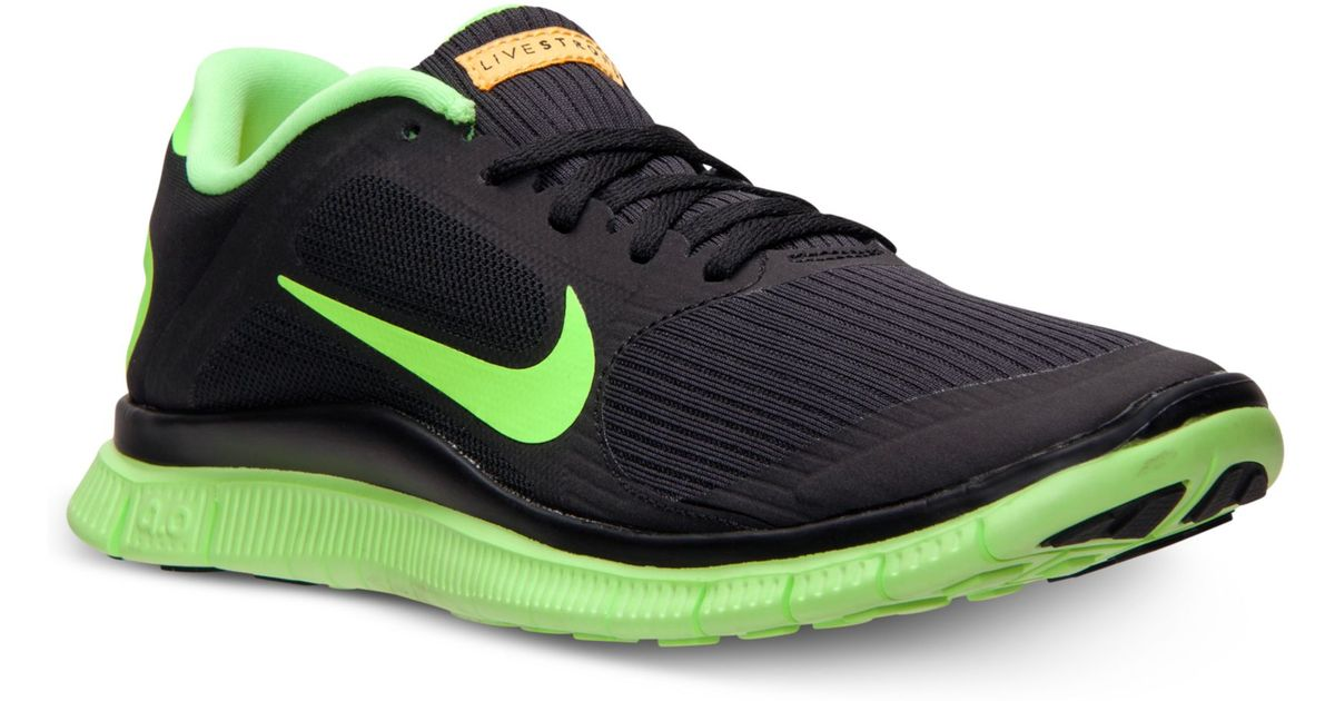 factory authentic 4ba52 361d7 ... Lyst - Nike Free 40 V3 Livestrong Running Sneakers in Green for Men ...