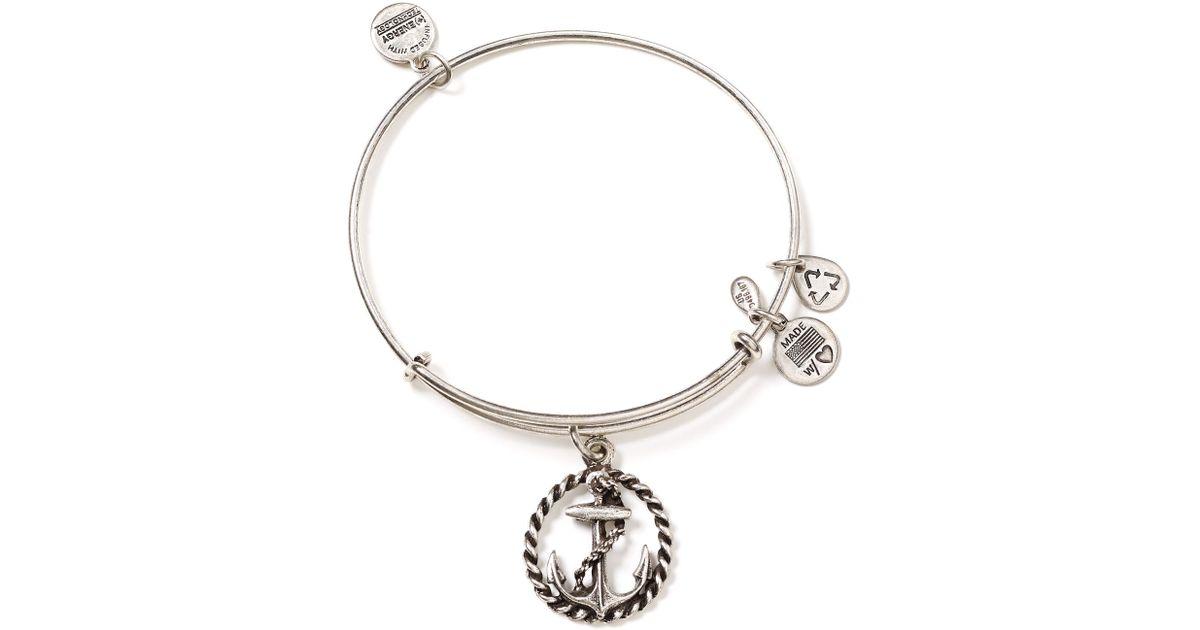 alex and ani nautical bangle in silver russian silver lyst