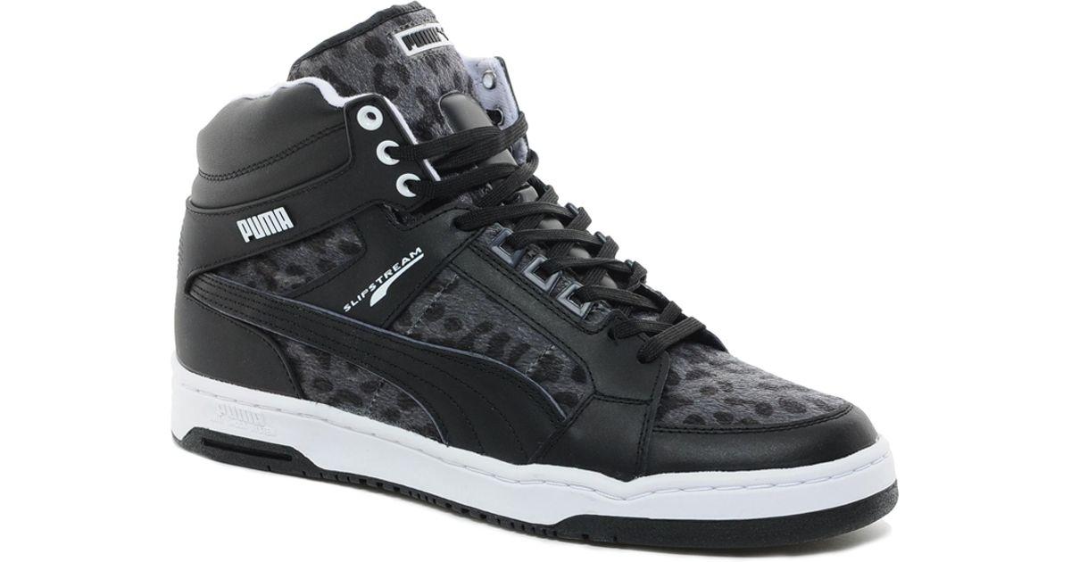 quality design c3584 2f36d PUMA Slipstream Animal Sneakers in Black for Men - Lyst